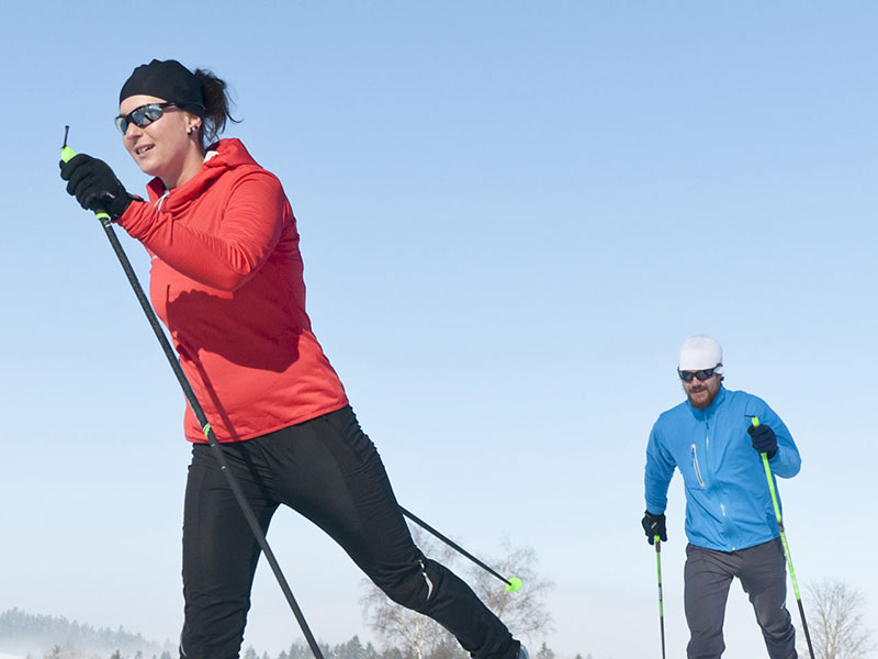Cross-country skiing in the Schladming-Dachstein region