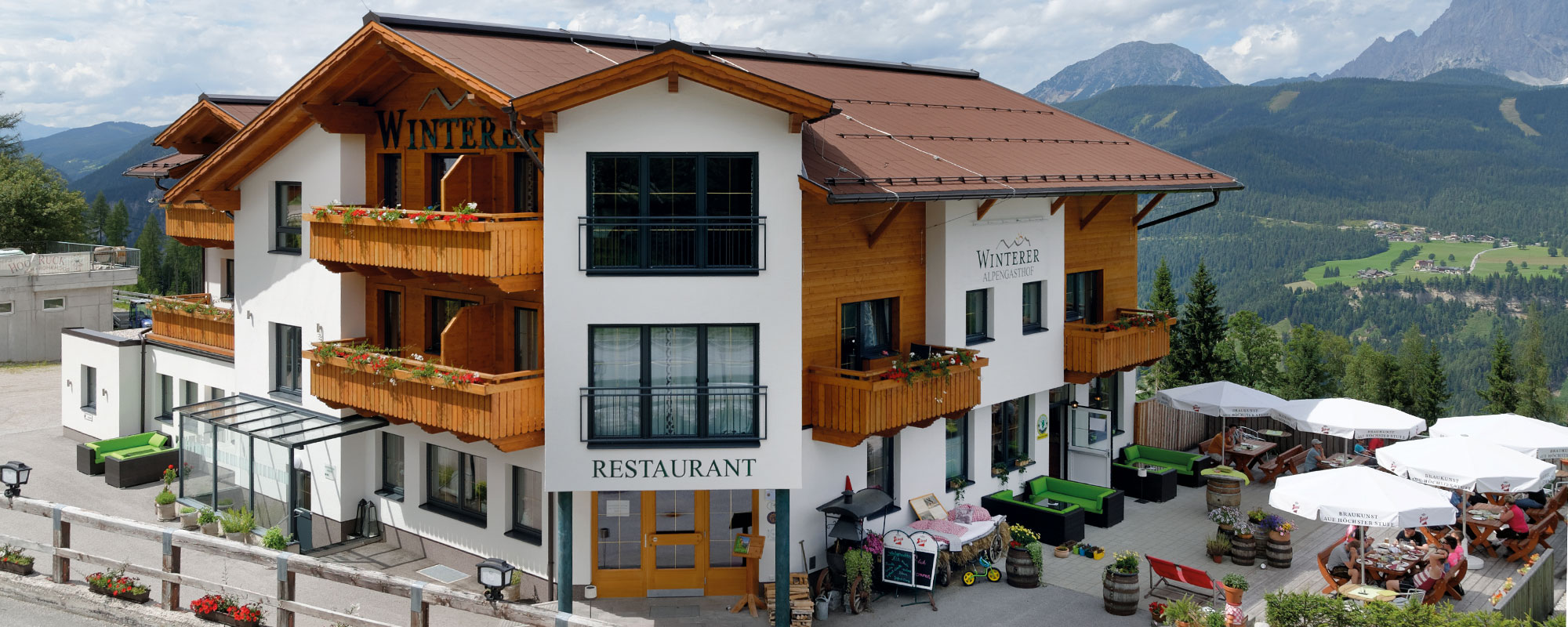 Das Hotel Winterer in Schladming